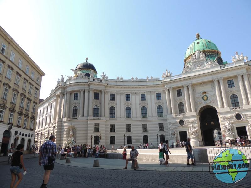 Palacio Imperial de Hofburg (historia)