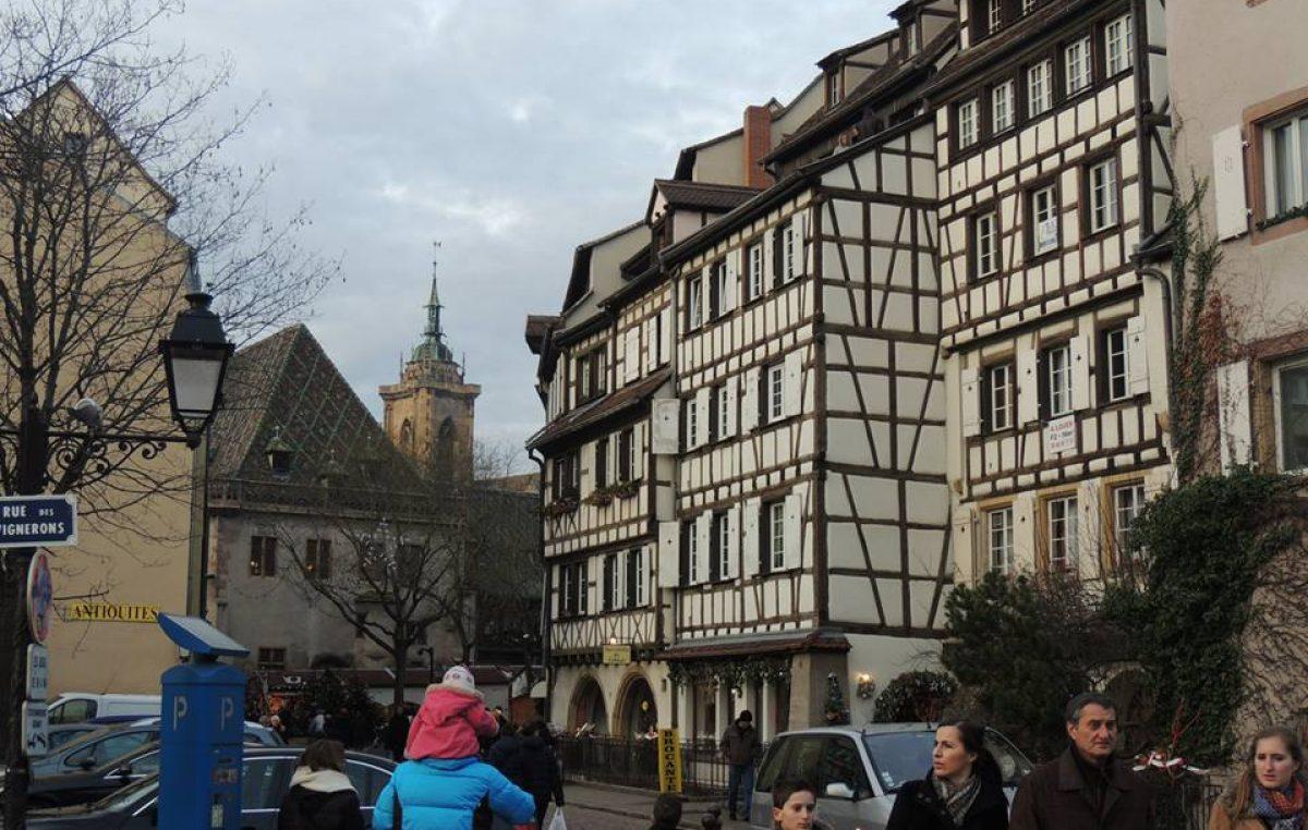 Festejos de Navidad en Colmar – Alsacia.