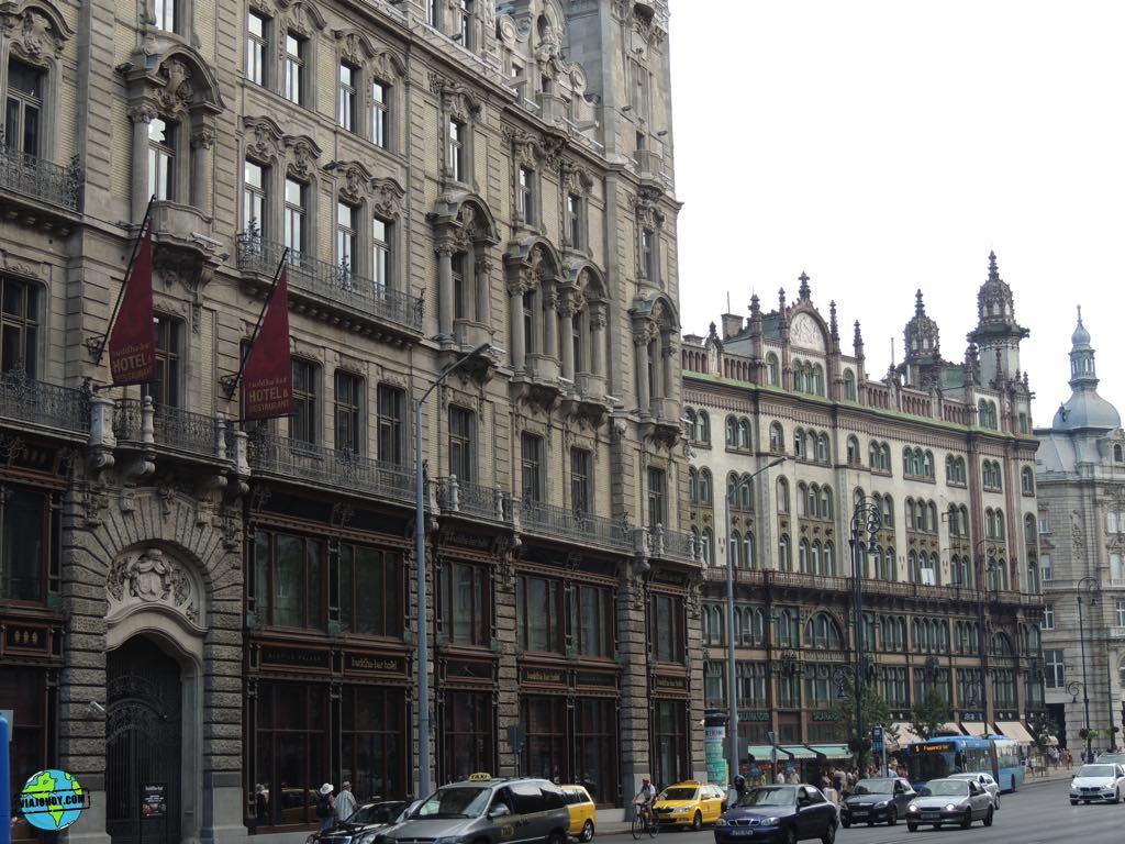 Caminando al centro de Budapest