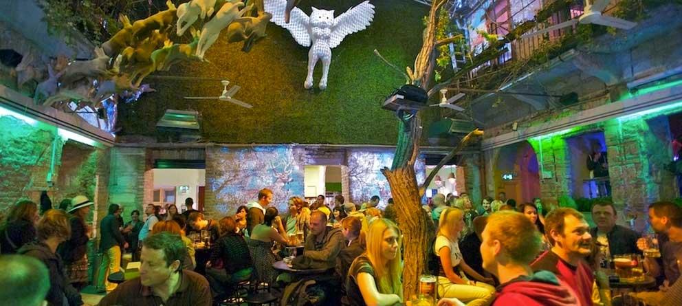Budapest alternativa – los Ruins Bars